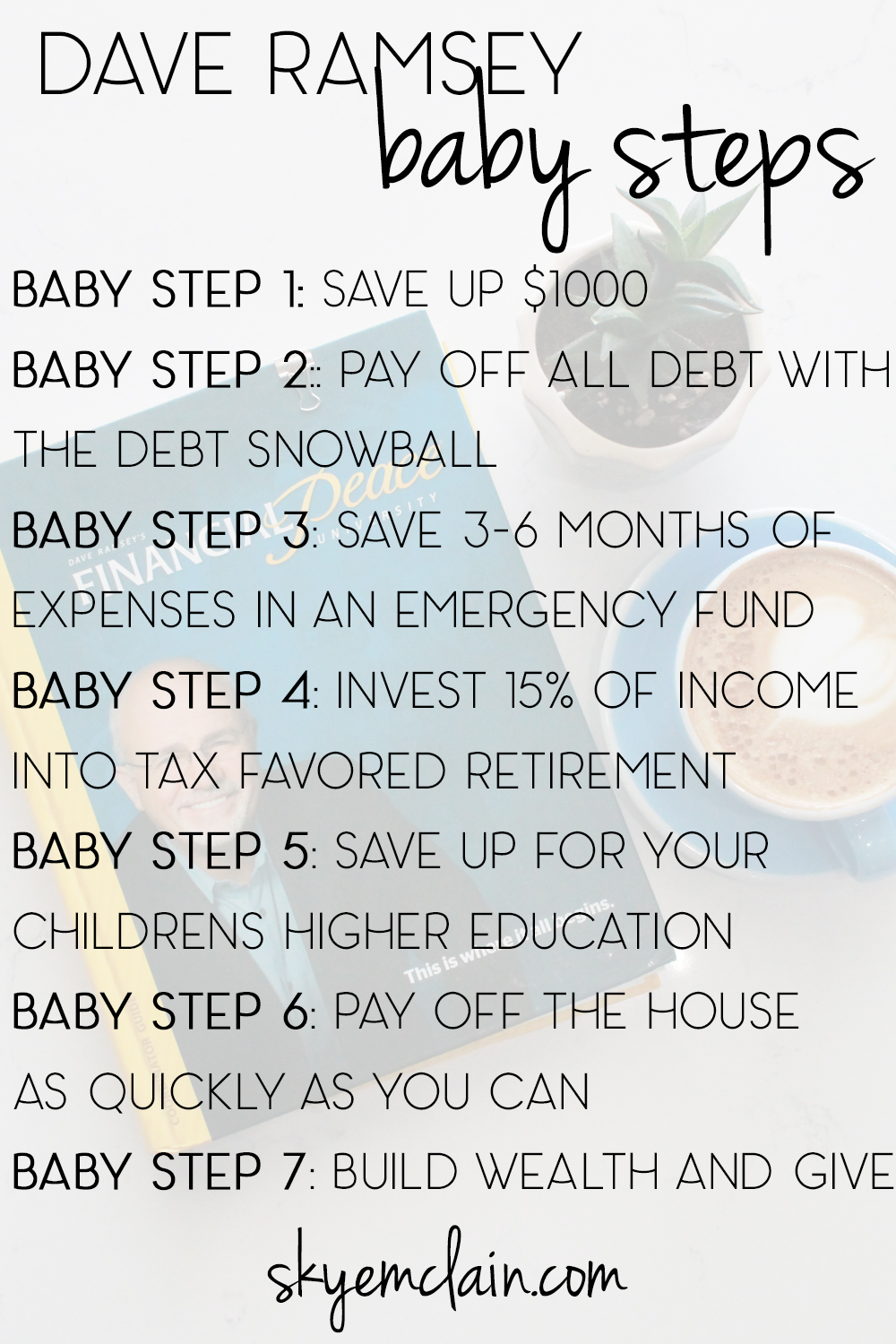 Reader Question: How to Work the Dave Ramsey Baby Steps ...